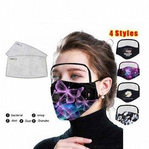 حماية الأزياء ترامب 2 أنماط عيون درع JJ30 # قناع جيدكس أنماط الوجه قناع 1 مع 4 أقنعة مصمم تصفية OOA8204 2 حماية في T WVSU