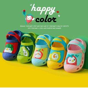 verano 1-3 años 2 niños y niñas antideslizantes para niños para niños zapatos de agujero para niños zapatos frescos para bebés