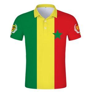 SENEGAL POLO shirt diy free custom made name sen POLO shirt nation flag sn french country college print text photo logo clothes