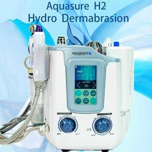 Taşınabilir 3 in 1 Hydro Mikrodermabrazyon Hydra Yüz Derin Temizleme Bio Mikro Akdeniz Yüz Germe Cilt Sıkma Tedavisi Spa Güzellik Makinesi