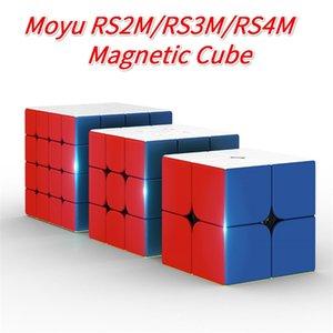 Moyu RS4M 4x4 RS3M 3x3x3 RS2M 2x2 Magnetic Cube RS3M CubingClassroom Professional 3x3 SpeedCube RS4 M Puzzle MagicoCubo 201219