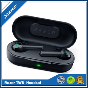 Razer Hammerhead True Wireless Kopfhörer Tws Bluetooth 5.0 IPX4 In-Ear-Ohrhörer Eingebaute Mikrofon Ein- / Ausschalter Kopfhörer Headsets