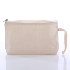 diy فارغة التسامي قماش حقيبة المرأة سستة ماكياج حقيبة المحمولة حقيبة نقل الحرارة طباعة طالب القلم حقيبة