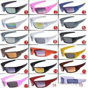 جديد الرجال النظارات الرياضية الأزياء مربع الإطار الشمس النظارات الرجال نظارات الرياضة ركوب النظارات الشمسية 19 ألوان