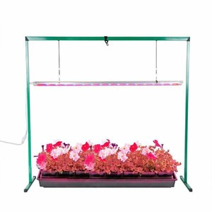 iPower 36W 4 Feet LED Grow Light Stand Rack for Seed Starting Plant Growing