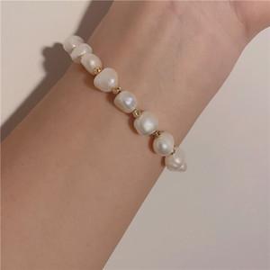 Korea fashion jewelry freshwater pearl bracelet bee design bracelet for women