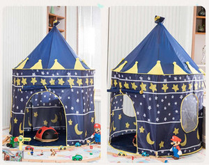 Kids Play Tent Kids Indoor Outdoor Castle Tent Baby Princess Game House Girl Oversized House Folding Castle Gift Tents Toy