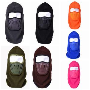 Masques de cyclisme en plein air chapeau polaire polaire coupe-vent chapeaux chaud hiver cou mask masque masque ski masque de visage chapeaux crânes Caps CYF4571-2