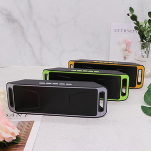 Wireless Bluetooth Speaker Stereo Car Subwoofer SC208 Computer Mini Dual Speaker Portable Small Stereo Car Subwoofer