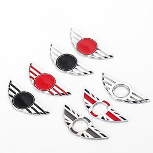 Stickers Emblèmes de voiture en métal 3D pour Mini Cooper Auto Badge Autocollant Autocollant Autocollants Décalations de décoration