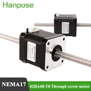 Hot selling 42 Series stepping motor screw similar cylinder movement 42HA48-T8 2-phase 4 wire body 48mm for 3D printer accessori