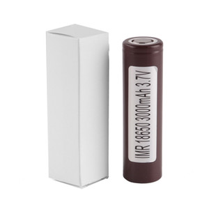 100% The highest quality LG HG2 18650 Battery 3000mAh 3.7V 35A Rechargable Lithium Batteries Free Shipping