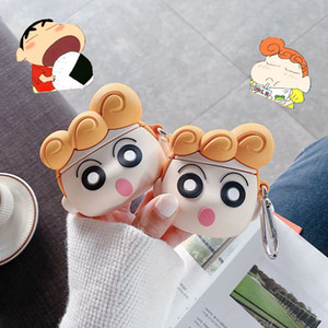 For Airpods Pro Case Anime 3D Japan Cartoon Cute Girl Bluetooth Headset Cover Protect Shell for Apple Airpods 2 Case Accessories