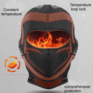 New Fashion Cool Mens Winter Outdoor Sports Bicycle Riding Mask Keep Warm Bandanas Windproof Mask Hats Neckerchief