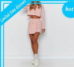 Genuo Damen Anzug Frauen Anzüge Büro Sets Casual Blazer und Röcke Set Formale Terno Feminino Neue