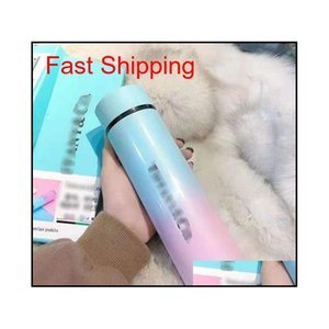 Hot Fashion Smart Mug Temperature Display Vacuum Stainless Steel Water Bottle Kettle Thermo Cup With Lcd Touch Screen Gift Cup Fiwdy