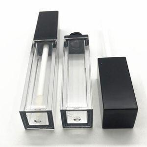 5ml lipgloss caixa de plástico recipientes vazios lipgloss tube cílios cílios recipiente mini laber brilho frasco split eed3575