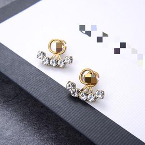 2020 chic lady designer earrings high quality beaded bling women earrings new hot sale luxury jewelry women earrings