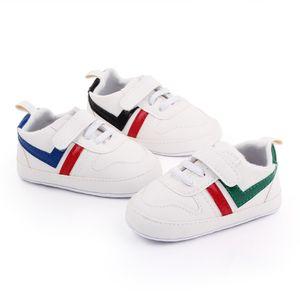 Baby Shoes Newborn Boys Girls First Walkers Infant Soft Bottom Anti-slip Prewalker Sneakers 0-18M