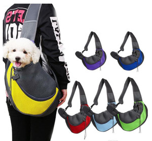 Pet Dog Cat Carrier Shoulder Bag Front Comfort Travels Tote Single Shoulder Bag Pet Supplies will and sandy Drop Ship GD970
