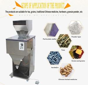 Machine de remplissage de pesée de poudre de granule électrique 2-9999G / machine d'emballage de particules semi auto