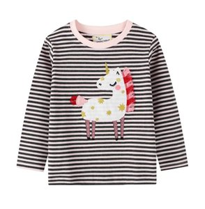 2020 spring children's clothing wholesale children's clothing baby t-shirt boys long-sleeved round neck top AA2