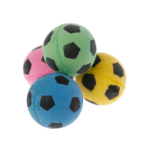 20PCS Non-Noise Cat EVA Ball Soft Foam Soccer Play Balls For Cat Scratching Toy Y1126