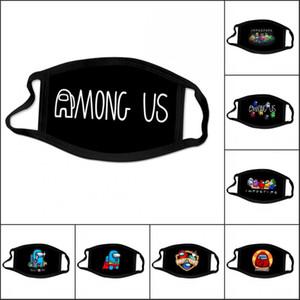 2021 Entre los EE. UU. Juego Adultos Moda Diseñador Face Party Mask Polvo Aparato Deporte al aire libre Ciclismo Algodón Mask Mascar Multi 3D Impresión de EEUU Stock
