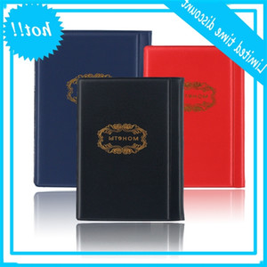 Mini Russian 10 Page 120 Units Pocket Collection Book Coin Protection Album Red Black Blue 3 Colors