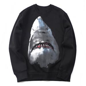 Nuovi uomini Donne Modello animale Stampa Felpe con cappuccio Mens Shark Felpa con cappuccio Street Hip Hop Cotton High Quality Adatto allentato Womens Felpa con cappuccio Felpa con cappuccio