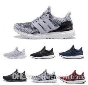 Yüksek Kaliteli Ultraboost 3 .0 4 .0 Koşu Ayakkabıları Erkekler Kadınlar Ultra Boost 3 .0 III Primenk Çalışır Beyaz Siyah Spor Sneaker 36 -45 2021