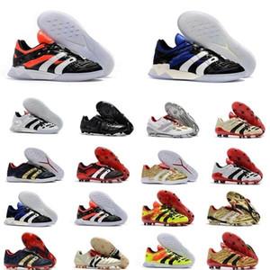 Erkek Futbol Cleats Predator Accelerator Elektrik FG TR Futbol Ayakkabıları Predator Hassas FG X Beckham Turf Kapalı Futbol Boots Yeni