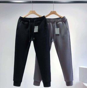 Moda Kadınlar Rahat Pantolon Elastik Bel Kadınlar Rahat Uzun Pantolon Siyah Renk Moda Harfler Boyutu Ile Serin Streetwear S M L