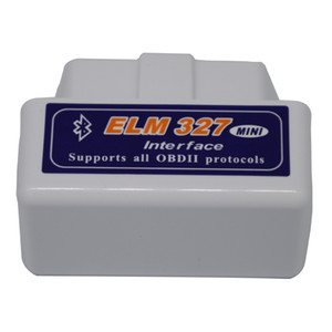 Boxed mini ELM327 OBD2 V2.1 Bluetooth car diagnostic tester scanner code reader for android and IOS Iphone