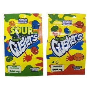 2020 Newr Egular Bag Sauer 500 mg Mylar Tasche wiederveralable Trockenkräuterblume Geruchssicherer Tasche Packagigfgdsdsd