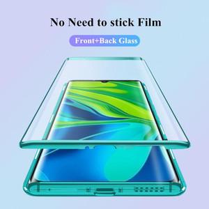 Magnetische Hülle für Xiaomi MI Note 10 Lite Hülle Dual Side Tempered Gla Hard Cover für MI Note 10 Lite Funda H Jllvrs