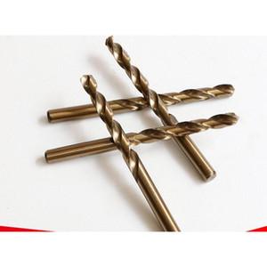 Bits Two-Tone Sobalt Bits للمعادن Wood Works M35 HSS CO الصلب مستقيم عرقوب 9-14 ملليمتر تويست الحفر WMTBHD DH_SELLER2010