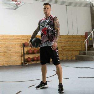 Gioco da uomo Summer Gioco di pallacanestro Training Suit Team Uniform Sportswear Gilet Running Fitness