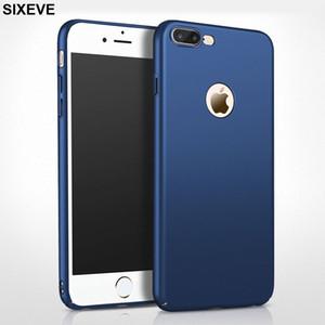 Роскошный тонкий жесткий PC Case для iPhone 6 S 6S 7 7s 8 Plus X 10 XR XS MAX 5 5S 5SE iPhone