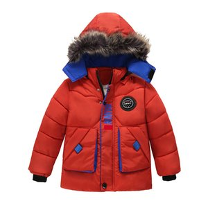 Kids Jackets Autumn Winter Jackets For Boys Coat Children Warm Outerwear Coat For Boys Jacket Toddler Boys Clothes 2-5 Year 201117