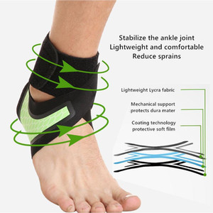 A Ankle Support Brace, Elasticity Free Adjustment Protection Foot Bandage,Sprain Prevention Sport Fitness Guard Band