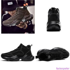 Fashion Winter Outdoor Shoes Men Women Triple Grey Black Brown Keep Warm Comfortable Sport Trainer Designer Sneakers Size 39 -44 202