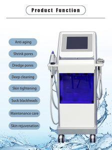 2021 New Hydrafacial Machine Facial Dermabrasion Skin Cleansing Hydrofacial Face Treatment Ultrasound RF Hydra Microdermabrasion Oxygen