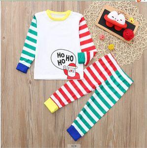 Hrismas Family Associant Pyjamas Adulte Kid Baby Famille Matchint Tenues Pajamas Deer Romper Famille Look Jumpsuits GWF3822