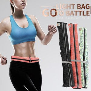 Waist Running Bag Outside Sport Mobile Phone Waterproof Mobile Phone Belt Jogging Waist Pack Carrying Portable Slim Fitness#4