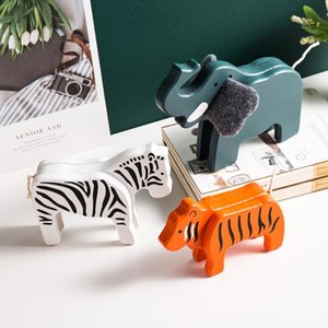 home decoration accessories modern room decoration accessories elephants christmas gift Wood Modern miniature figurines