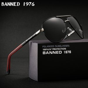 2019 High quality Anti glare Polarized Aluminum Sunglasses hot Men's brand new Sun glasses big size oculos women gafas de sol