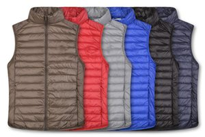 New winter down jacket ma3 jia3 man frivolous favors big yards short vest tank top couples coat