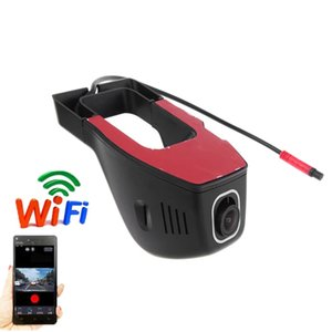 Wi-Fi Car DVR Dash Cam Cam FHD 1080P Night Vision Hidden Dashboard Камера Автомобиль Видеодиатор Рекордер Автомобильная камера G-Датчик