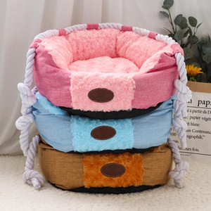 Winter Dog Bed For Small Medium Dogs Cats Warm Pet Puppy Cat Beds House Nest Sleeping Sofa Cushion Kennel Pet bbydbg